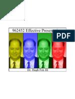 962452 Effective Presentation Workbook