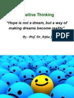 Positive Thinking -By Dr. Arjita Jain
