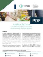 Análisis de Caso Soriana y Comercial Mexicana