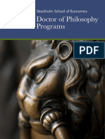 SSE-Doctor of Philosophy Programs