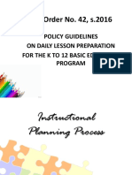 Policy Guideliness Dll Making Deped Order