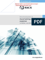 RICS Ascertaining Loss and Expense Amended 2 1st Edition 2015