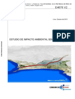 Estudio de Impacto Ambiental de Linea 2