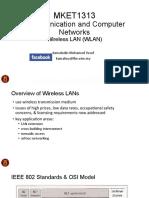 Mket1313 - Wireless Lan (Wlan)
