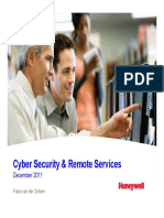 Cyber Security and Remote Services