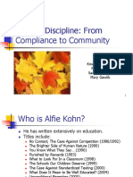 Kohn - Beyond Discipline - From Compliance to Community