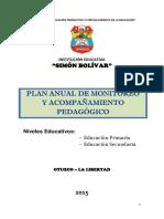 Plan de Monitoreo- 2015