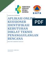Ridaryanto Abimanyu - Aplikasi Online Kuesioner Identifikasi Kebutuhan Diklat Teknis