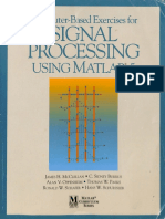 Computer-Based Exercises for Signal Processing Using MATLAB Ver.5 (McClellan)