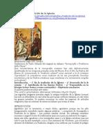 Iconografía y Tradición de La Iglesia