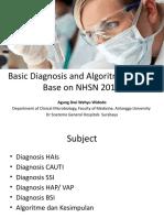 Basic Diagnosis and Algoritme of HAIs ADW HIPPII Jatim 2017