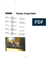 Power Tong Parts