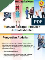 Manusia Sebagai Abdullah