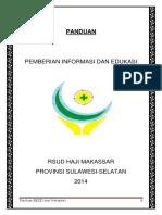 Panduan Pemberian Informasi Dan Edukasi