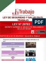 LEY Y REGLAMENTO SST - PIURA -2.ppt