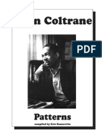 [Piano Patterns]Jazz Book - John Coltrane Patterns