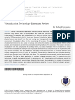 1 Virtualization Technology Literature Review