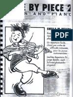 [Sheet Music] Piano & Violin - Easy Pieces