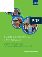Kalahi Cidss Project Philippines