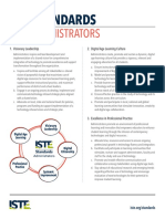 iste standards for administrators 2009  permitted educational use