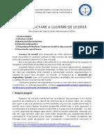Ghid Redactare Lucrare Licenta FDSA