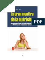 La Gran Mentira de La Nutricion - Carlos Abehsera
