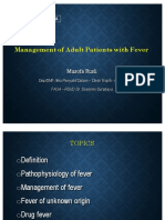 Management of Adult Patients With Fever