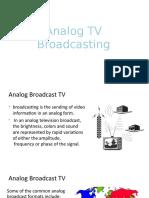 Analog TV Broadcasting