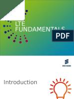 1 LTE Fundamentals