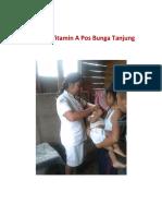 Swiping Vitamin a Pos Bunga Tanjung