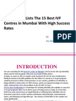 The 15 Best IVF Centres in Mumbai _23 July