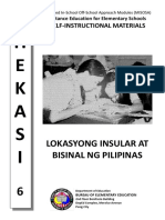 11lokasyong Insular at Bisinal Ng Pilipinas