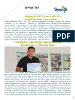 Syunik NGO Newsletter Issue 27