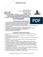 CV Professionnel KET