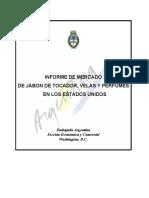 Informe de Mercado de Jabon, Velas y Perfumes 2014