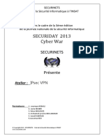 VPN Ipsec Securiday 2013