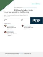 Interleaved-MIMO DAS for Indoor Radio Coverage