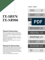Manual TX-SR876 NR906 FrEs Web