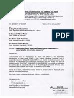 Oficio modelo Continuação Suspensão Movimento Grevista e Manutenção Do Estado Greve
