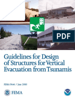 FEMA 646 - Guidelines for Design of Structures for Vertical Evacuation From Tsunamis