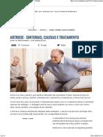 ARTROSE - Sintomas, Causas e Tratamento » MD