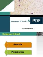 Kuliah Anemia Dr Bastiana Sppk