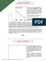 Economia - Noções de Mercado 1