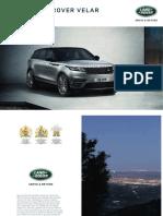 Range Rover Velar Brochure