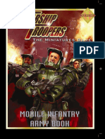 Starship Troopers Figs - Mobile Infantry Army Book