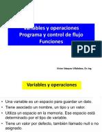 Variables Operacionales
