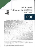 Lukacs e Os Dilemas Da Dialética Marxista Guido Oldrini
