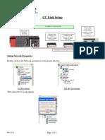 IyCnet Mitsubishi Ejemplo Cclink Setup