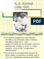 Falsacionismo - Karl r Popper