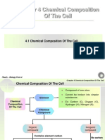 Chapter 4 Chemical Composition of the Cell